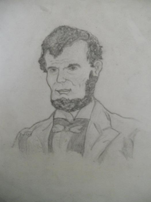 Abraham Lincoln by jimmyswann